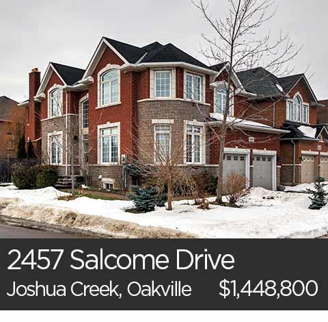 2457 Salcome Drive joshua creek oakville home for sale jamie vieira