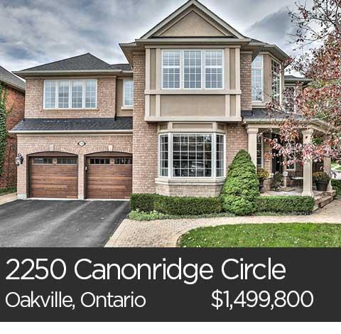 2250 canonridge circle oakville ontario