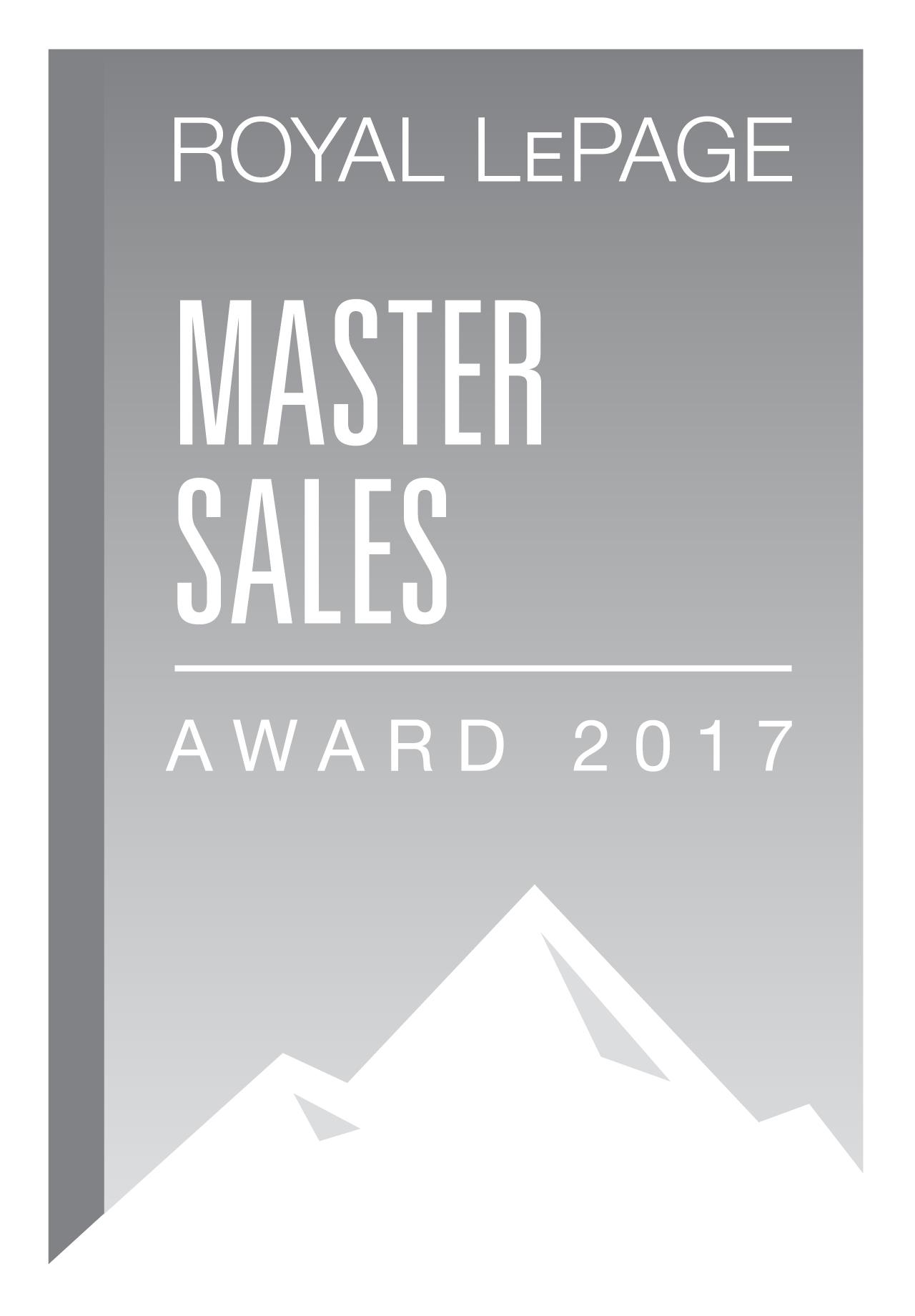 Master Sales Award REALTOR Royal Lepage