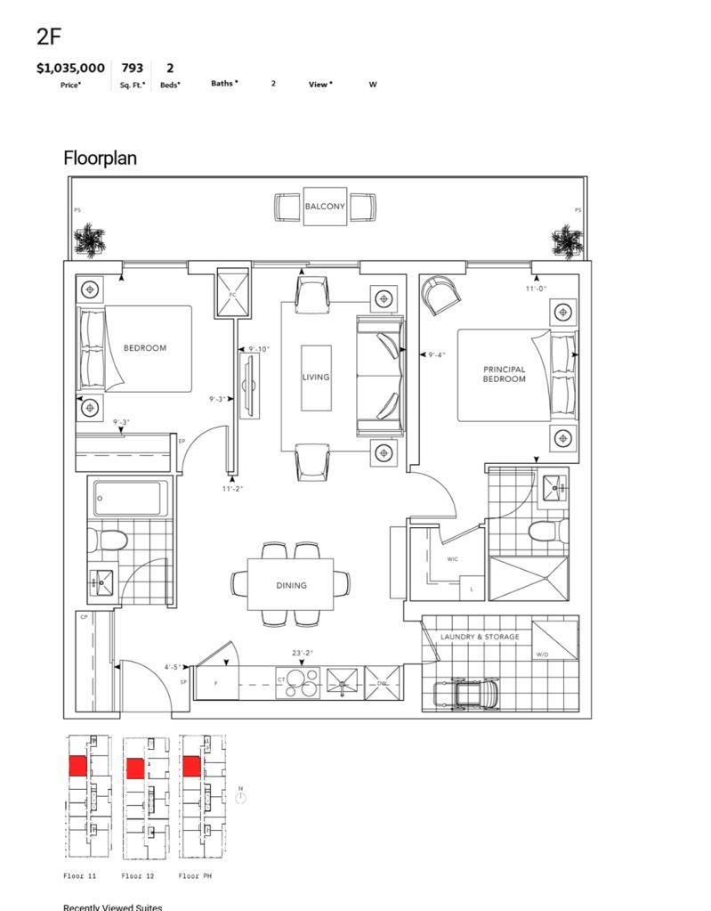 MRKT - Floor Plan - 2F