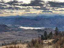 Lots and Land for Sale in Anarchist Mountain, Osoyoos, British Columbia $724,999