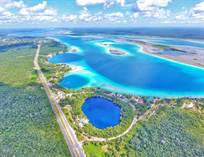 Lots and Land for Sale in Buena Vista, Bacalar, Quintana Roo $280,000
