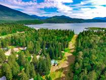 Recreational Land for Sale in Shuswap/Revelstoke, SEYMOUR ARM, British Columbia $199,500