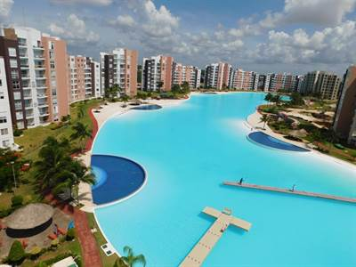 APARTMENT FOR RENT IN CANCÚN, PENTHOUSE WITH BEAUTIFUL VIEW TO THE LAGOON