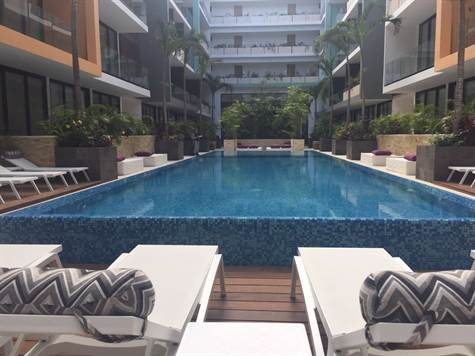 Fully furnished downtown studio playa del carmen for Actual studio playa del carmen