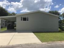 Homes for Sale in Countryside Village Mobile Home Park, Tampa, Florida $75,000