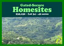 Lots and Land for Sale in Puriscal, San José $39,150