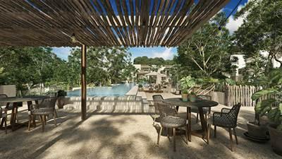 Luxury Living 2 Br. Condo in Jungle Paradise - Coba Ave. Tulum
