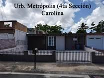 Homes for Sale in Metrópolis, Carolina, Puerto Rico $99,990