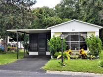 Homes for Sale in Three Seasons Mobile Home Park, Brooksville, Florida $23,900