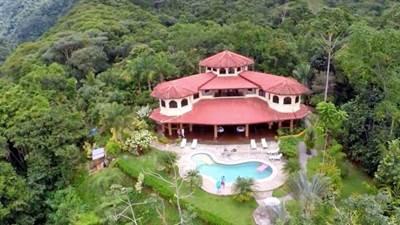 Mountain Estate B&B With Two Beautiful Waterfalls In Tinamaste