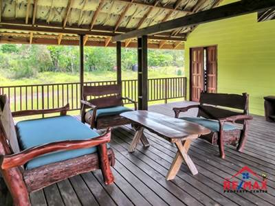 BELIZE COLONIAL STYLE DUPLEX with RIVER VIEW