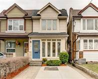 Homes Sold in Bloor West Village, Toronto, Ontario $899,000