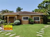 Homes for Sale in Hispaniola Residencial , Sosua, Puerto Plata $295,000