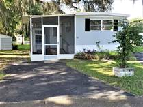 Homes for Sale in Three Seasons Mobile Home Park, Brooksville, Florida $35,000