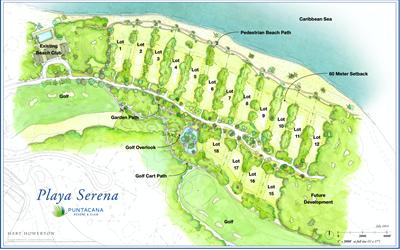 Punta Cana Beachfront homesites lots land |4,645 M2 | Punta Cana Resort, Dominican Republic
