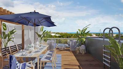 Outstanding 3 Br PH w/ Marina Front & Private Pool in Puerto Aventuras