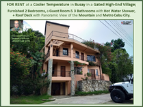 Homes for Rent/Lease in Busay, Cebu City, Cebu ₱40,000 monthly