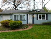Homes for Sale in Madison, Ohio $55,000