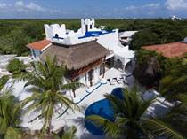 Homes for Sale in Beachfront, Akumal, Quintana Roo $2,100,000