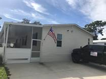 Homes for Sale in Countryside Village Mobile Home Park, Tampa, Florida $90,000