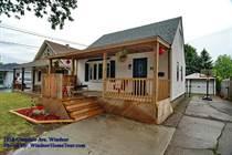 Homes Sold in Eastside, Windsor, Ontario $189,900