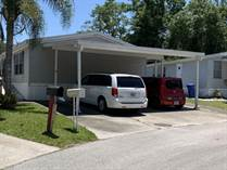 Homes for Sale in ParkWood Estates, Plant City, Florida $59,900