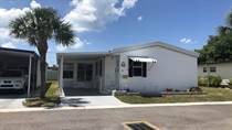 Homes for Sale in Lincolnshire Mobile Estates, Largo, Florida $39,900