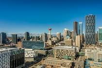 Condos for Sale in Downtown East Village, Calgary, Alberta $739,900