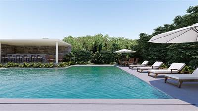 HOUSES FOR SALE 15 MINS FROM BEACH IN PLAYA DEL CARMEN. 2 OR 3 BR