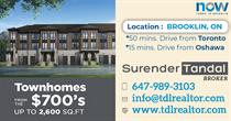 Homes for Sale in Brooklin, Brooklin, Ontario, Ontario $700,000