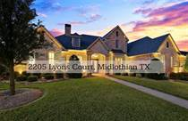 Homes for Sale in Midlothian, Texas $769,900