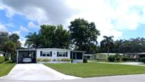 Homes for Sale in Camelot Lakes MHC, Sarasota, Florida $49,000