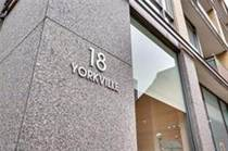 Condos for Rent/Lease in Yorkville/Avenue Rd, Toronto, Ontario $2,200 one year