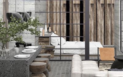 Beautiful 1 Bedrooms 1 Bathrooms Condo for Sale in the Majestic area of Tulum at Aldea Zama DED920