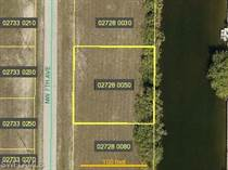 Lots and Land for Sale in Cape Coral, Florida $21,000