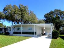 Homes for Sale in Camelot Lakes MHC, Sarasota, Florida $49,900