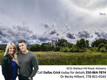 Lots and Land for Sale in East Kelowna Estates, Kelowna, British Columbia $3,200,000