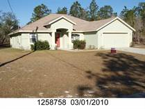 Homes for Rent/Lease in Citrus Springs, Florida $1,600 one year