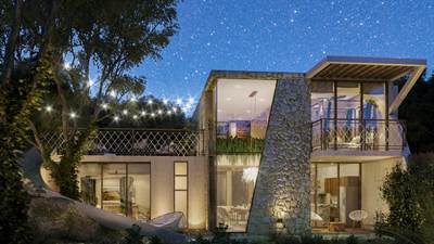 Smart design 2 Br. House in 2 stories w/Private Pool in La Veleta, Tulum