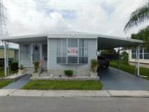 Homes for Sale in Bay Ranch Mobile Home Park, Largo, Florida $13,900