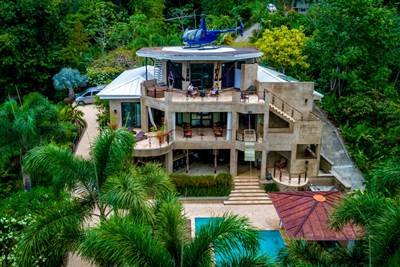 Dominical Luxury Villas with Unrivaled Pacific Ocean and White Water Views