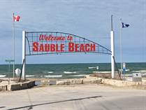 Lots and Land for Sale in Sauble Beach North, Sauble Beach, Ontario $1,950,000
