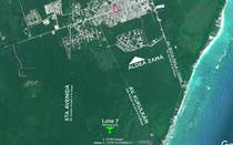 Lots and Land for Sale in Region 8, Tulum, Quintana Roo $107,600
