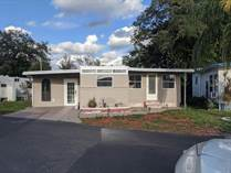 Homes for Sale in New Ranch Carefree Community, Clearwater, Florida $88,900