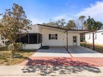 Homes for Sale in Forest Lake Estates, Zephyrhills, Florida $17,000