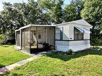 Homes Sold in Three Seasons Mobile Home Park, Brooksville, Florida $21,500