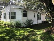 Homes for Sale in SUNRISE MHC, Lutz, Florida $45,000