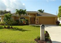 Homes for Sale in Cape Coral, Florida $305,900