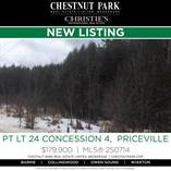 Lots and Land for Sale in West Grey, Priceville, Ontario $179,900